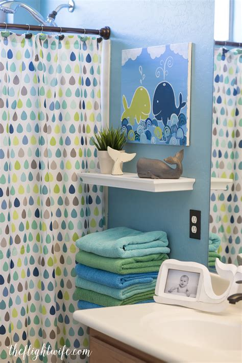 kids bathroom makeover fun  friendly whales