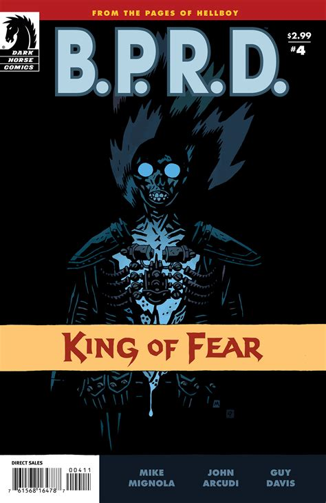 b p r d king of fear vol 1 4 database