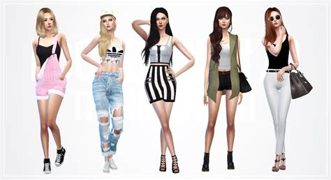 jellyfish trend report tank top sims 4 updates sims