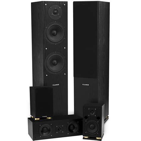 surround sound system galleon fluance sxhtb bk high definition surround sound
