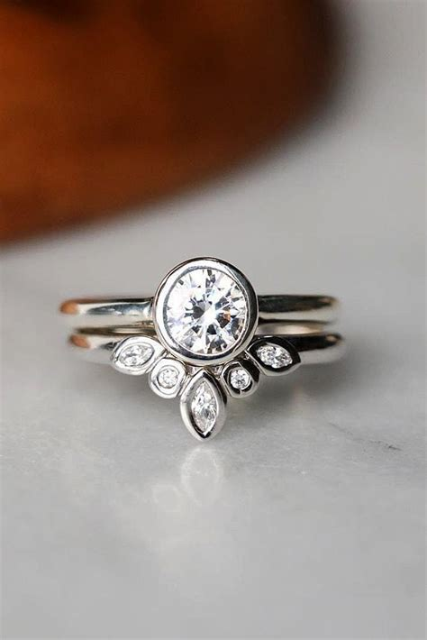 30 uncommonly beautiful diamond wedding rings oh so