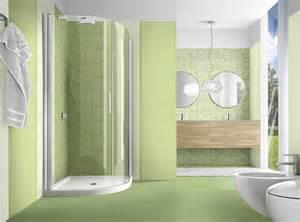 Bagno con piastrelle verdi sayproxy
