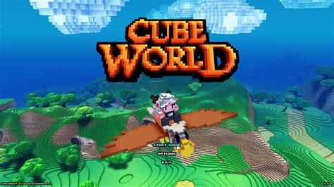 cube world  coming  steam  september  classes