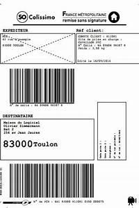 Boite Colis Poste Dimensions : etiquettes colissimo national ~ Nature-et-papiers.com Idées de Décoration