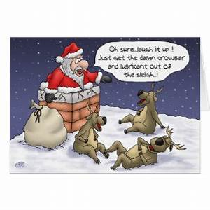 Funny Christmas Cards & Invitations