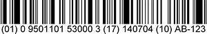 GS1 DataBar barcodes | GS1