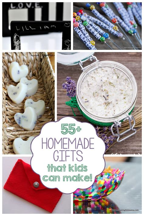 homemade gifts kids
