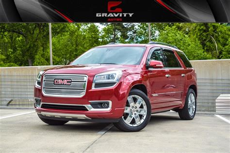 gmc acadia denali stock   sale  sandy