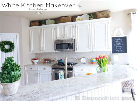 kitchen cabinet makeover white kitchen makeover 2604