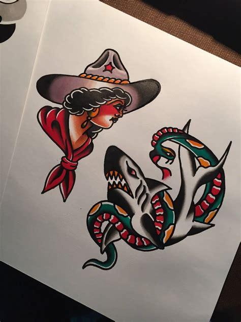 traditional western tattoos