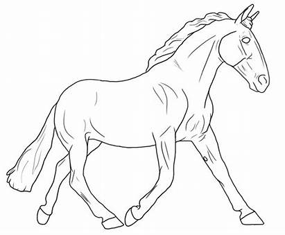 Coloring Breyer Horse Printable Sheets Clipart Popular