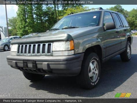 tan jeep grand cherokee light drift wood metallic 1995 jeep grand cherokee