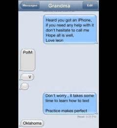 Funny Grandma Text Messages