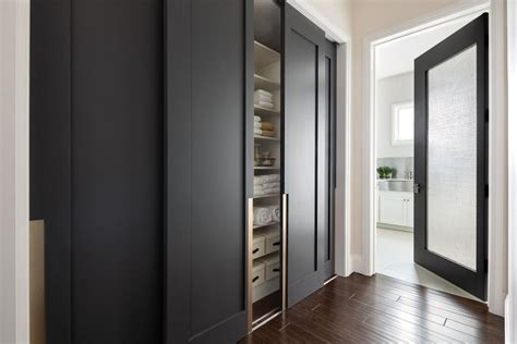 modern closet types variants  hallway interior