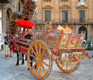 Sicilian Horse and Carriage