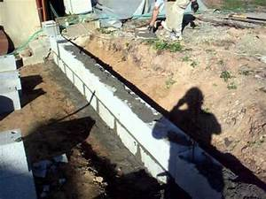 Construire Mur Parpaing : parpaings chez k vin youtube ~ Premium-room.com Idées de Décoration