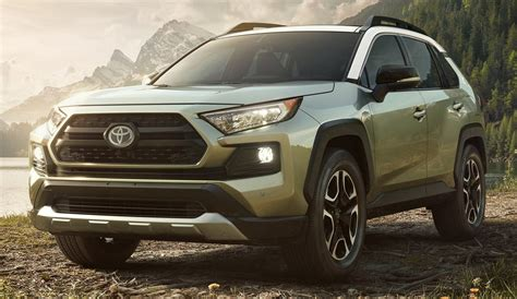toyota rav  official  aggressive design
