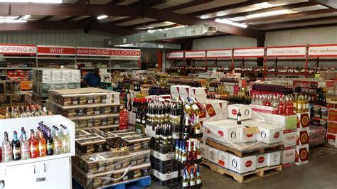 wine warehouse liquidation