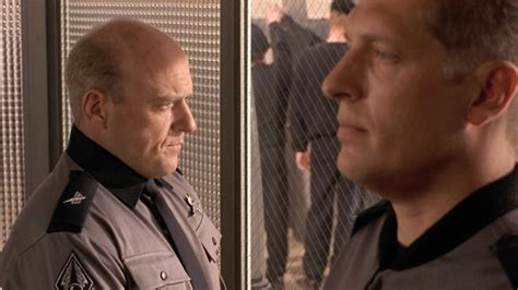 Starship Troopers Shower - why hank from breaking bad looks so familiar