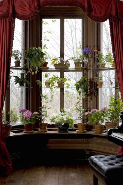 Window Garden Plants by 14 Bay Window Ideas That Will Pop Living Room Decor