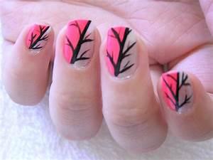 Easy Hot Pink Nail Polish Designs 2017 Facebook Nail Art ...