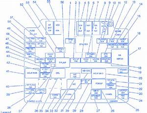 1993 S10 Fuse Box Diagram