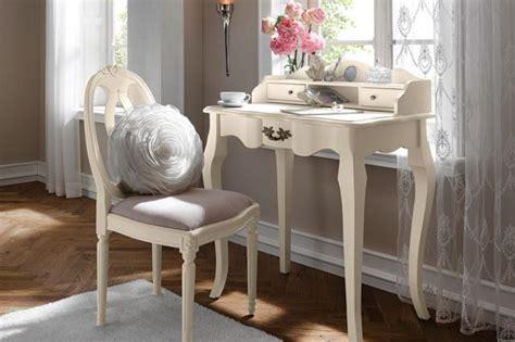 bureau romantique blanc console bureau baroque