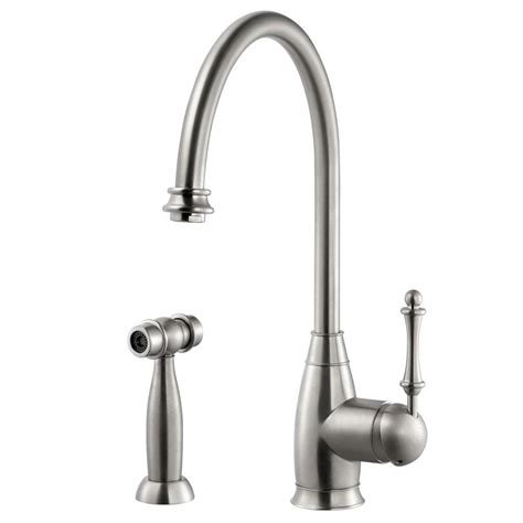 kohler forte single handle standard kitchen faucet