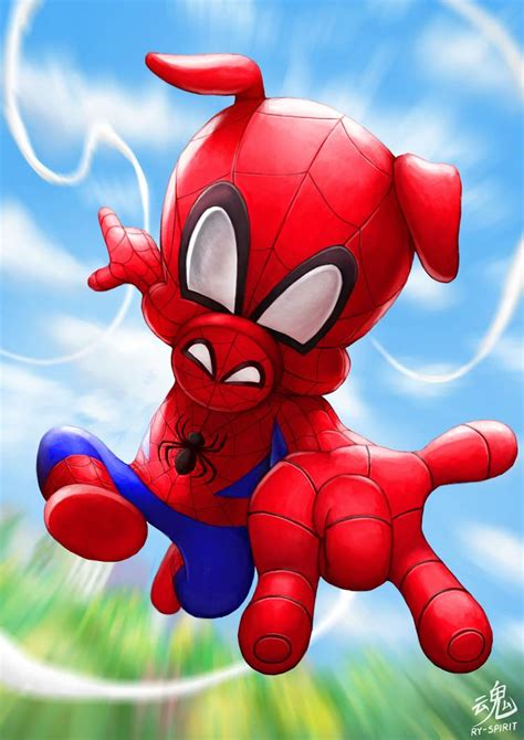 spider ham  ry spirit  deviantart