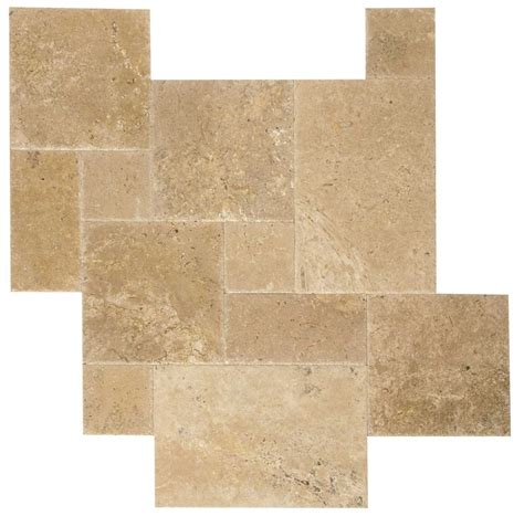 tumbled marble travertine tile