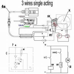 Dump Trailer Hydraulic Pump Wiring Diagram