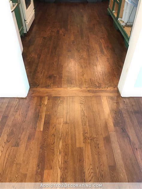 oak flooring kitchen wood floor in living room and kitchen 1136