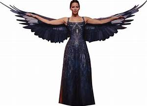 Katniss Everdeen Mockingjay Dress MQ PNG by ViggoBarnes on ...