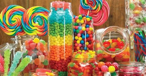 types  candy list   kinds  candies
