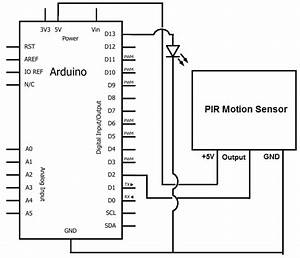 How To Build A Motion Sensor Light Circuit With An Arduino