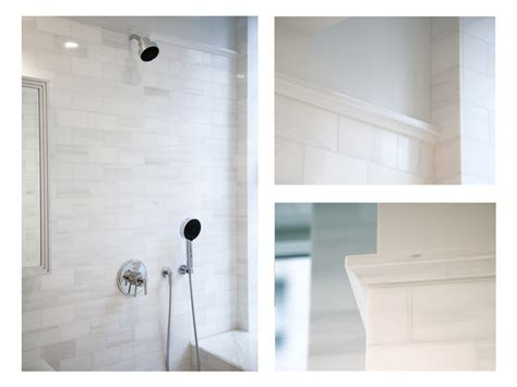 marble subway tile bathroom complete tile