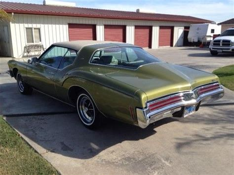 1973 Buick Riviera Boattail by Purchase Used 1973 Buick Riviera Boattail 100 Original In