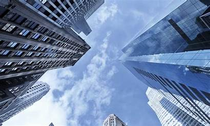 Sky Buildings Corporate Building Pandemi Selama Idulfitri