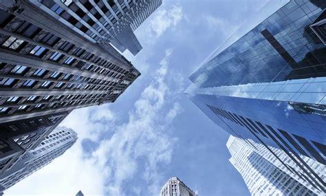 Free photo: Sky and Buildings Buildings City Dusk