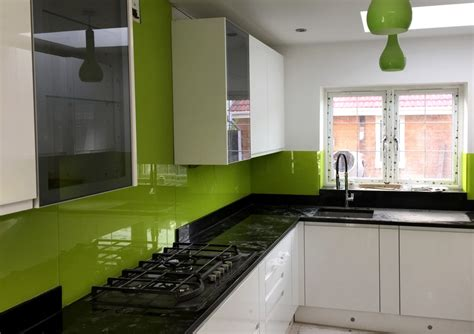 green kitchen splashbacks how to choose a contractor for glass splashback colours 1436