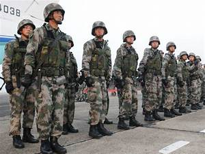China's People's Liberation Army from Tibet area command ...
