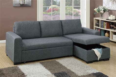 convertible sectional sofa set with storage convertible sectional with bed storage f6931 home