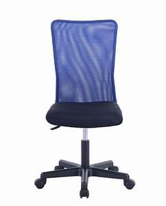 Chaise De Bureau Bleu : lam chaise de bureau enfant ~ Teatrodelosmanantiales.com Idées de Décoration