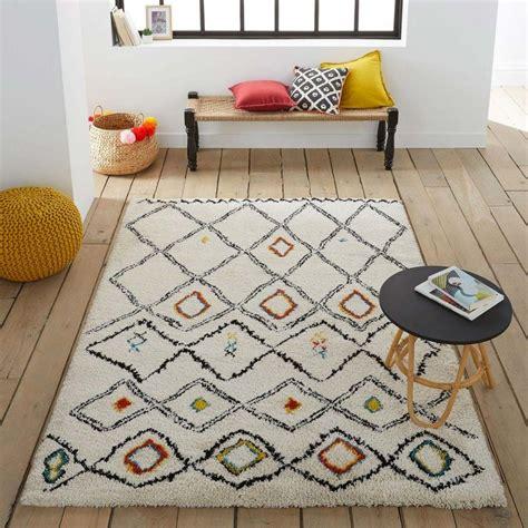 tapis berbere  idees deco pour le salon