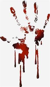 Blood, Clipart, Handprint, Blood, Handprint, Transparent, Free