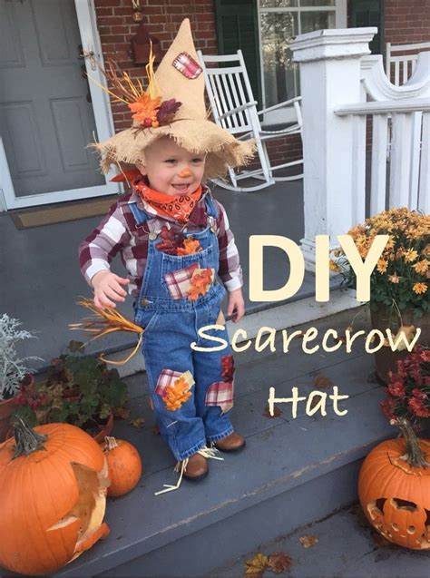 Best 25+ Scarecrow Hat Ideas On Pinterest  Scarecrow Costume, Diy Scarecrow Costume And