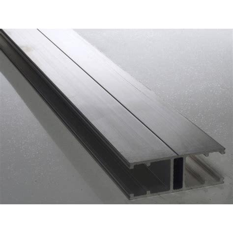 protection plan de travail bois cuisine profil jonction pour plaque ep 16 mm aluminium l 4 m
