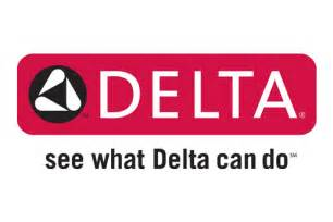 kitchen faucet brand logos delta delta is committed to sustainable manufacturing processes and