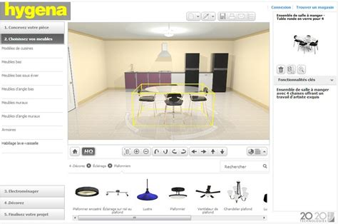 concevoir ma cuisine concevoir ma cuisine en 3d top amnager sa cuisine with