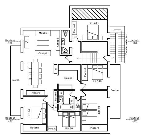 plan cuisine restaurant plan de cuisine professionnelle maison design bahbe com